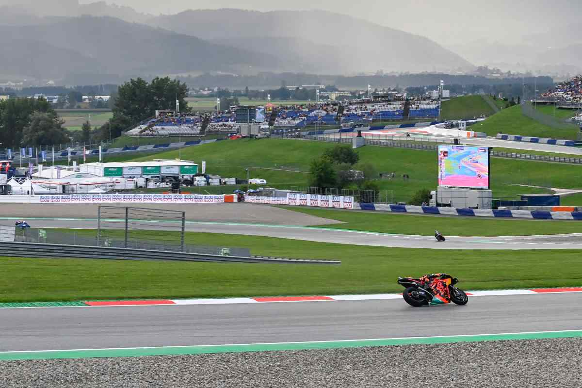 La MotoGP in azione al Gran Premio d'Austria al Red Bull Ring