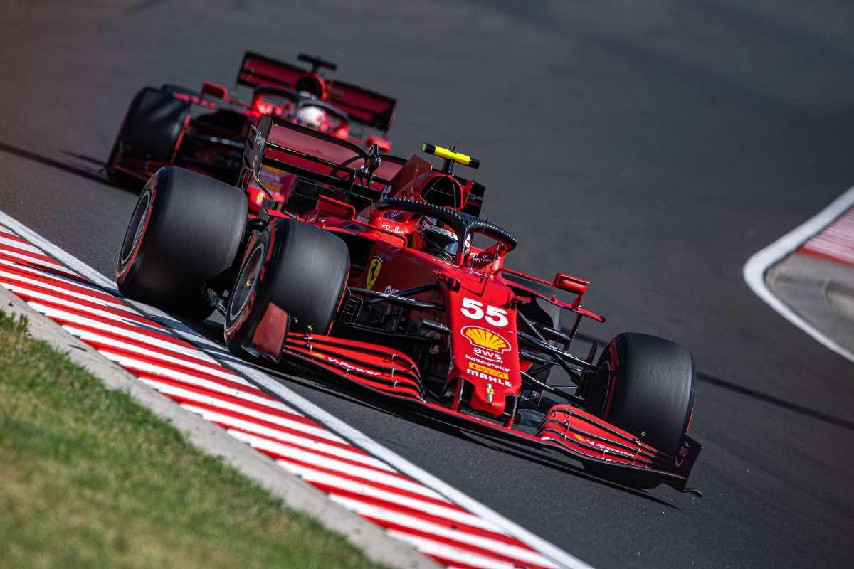 Carlos Sainz al Gran Premio d'Ungheria di F1 2021 a Budapest