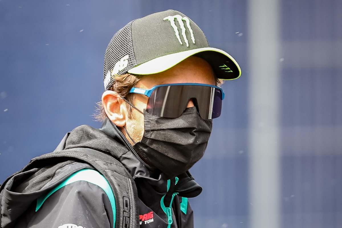 Valentino Rossi nel paddock del Gran Premio di Stiria di MotoGP 2021 al Red Bull Ring