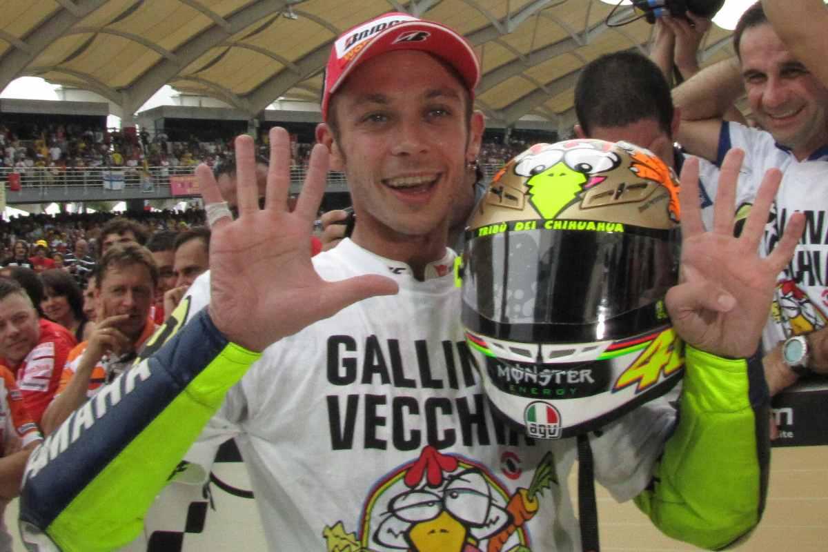 L'ultimo campionato del mondo vinto da Valentino Rossi in MotoGP