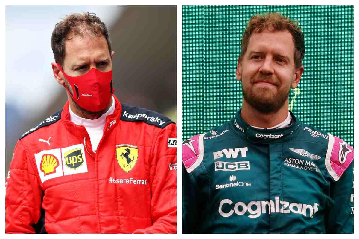 Sebastian Vettel alla Ferrari e alla Aston Martin