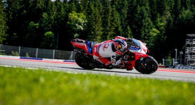 Johann Zarco in pista nelle prove libere del Gran Premio di Stiria di MotoGP 2021 al Red Bull Ring