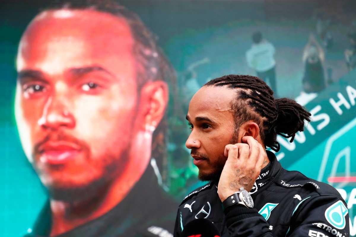 Lewis Hamilton in Russia ha centrato la vittoria numero 100 in carriera (Foto di Yuri Kochetkov - Pool/Getty Images)