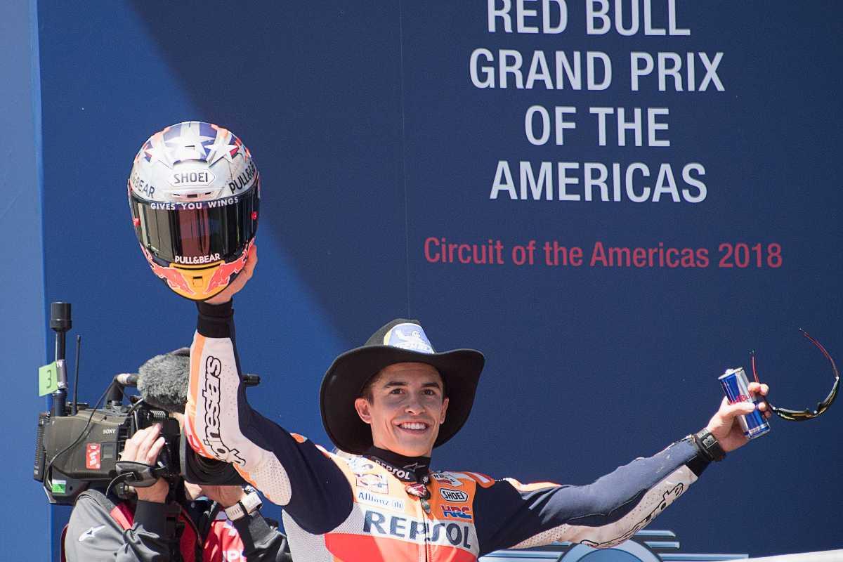 Marquez, vero dominatore ad Austin in MotoGP (Foto Getty Images)