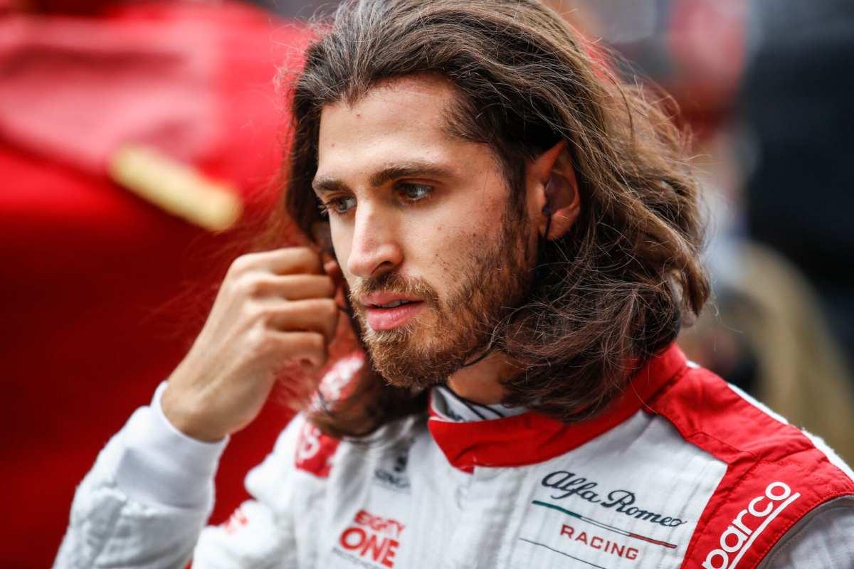 Antonio Giovinazzi al Gran Premio di Russia di F1 2021 a Sochi