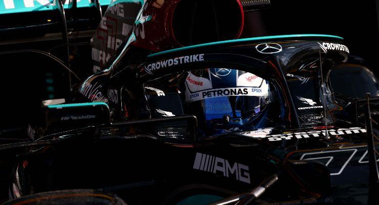 Valtteri Bottas in pista al Gran Premio d'Olanda di F1 2021 a Zandvoort