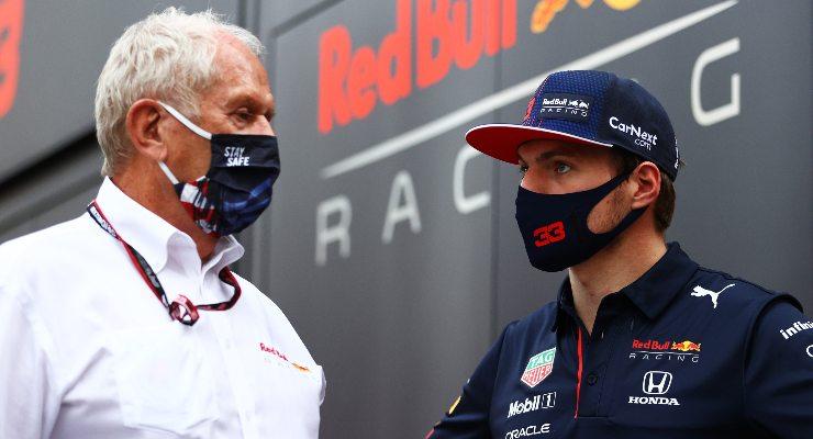 Helmut Marko e Max Verstappen