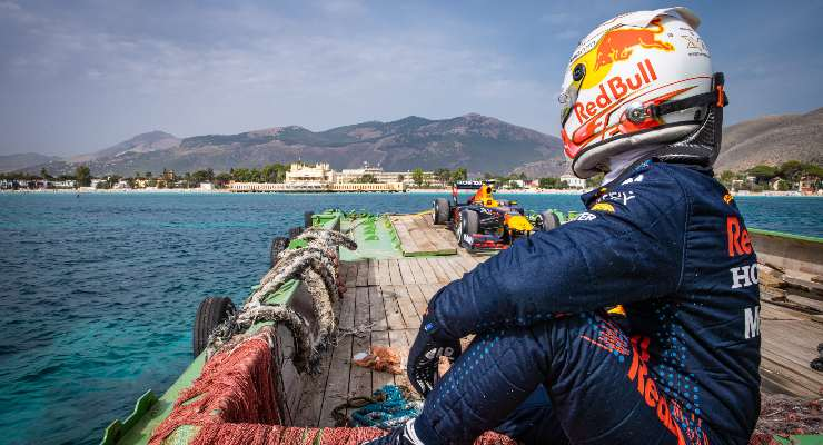 Max Verstappen a Palermo