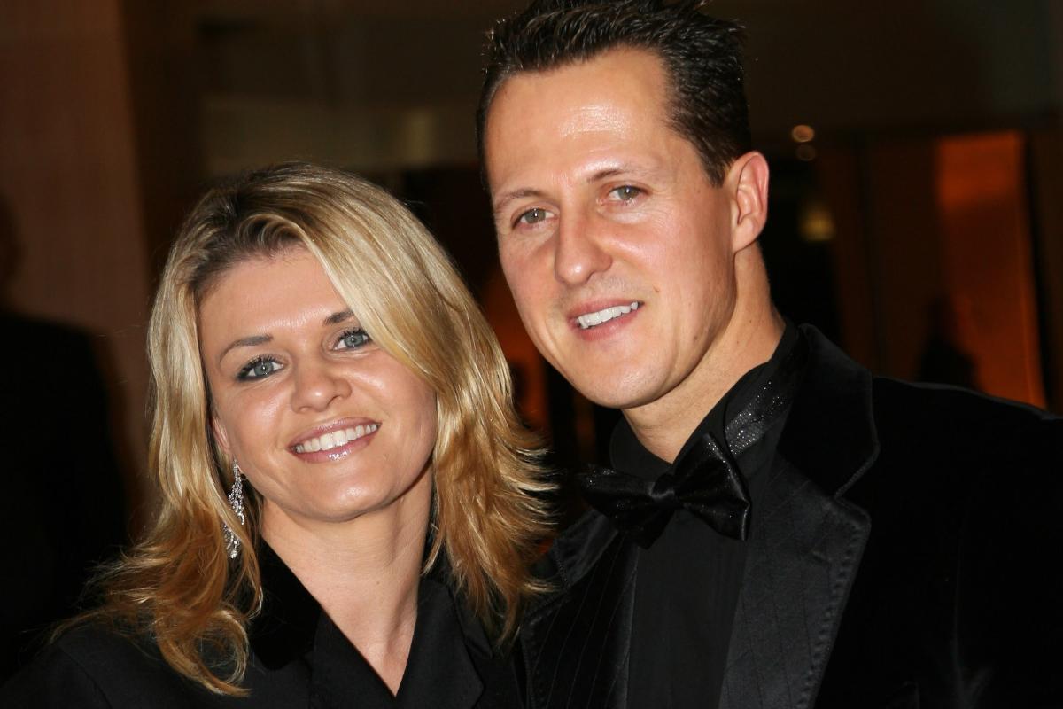 Michael Schumacher con la moglie Corinna Betsch