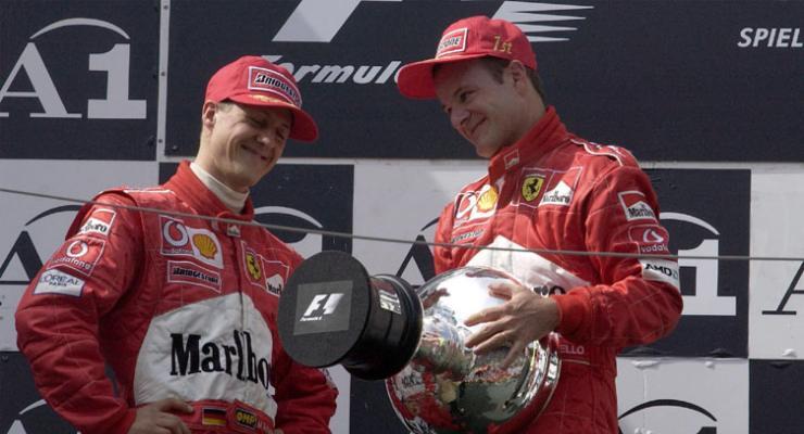 Michael Schumacher e Rubens Barrichello