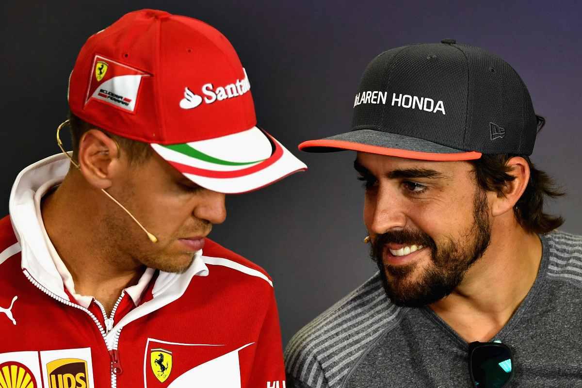 Sebastian Vettel e Fernando Alonso