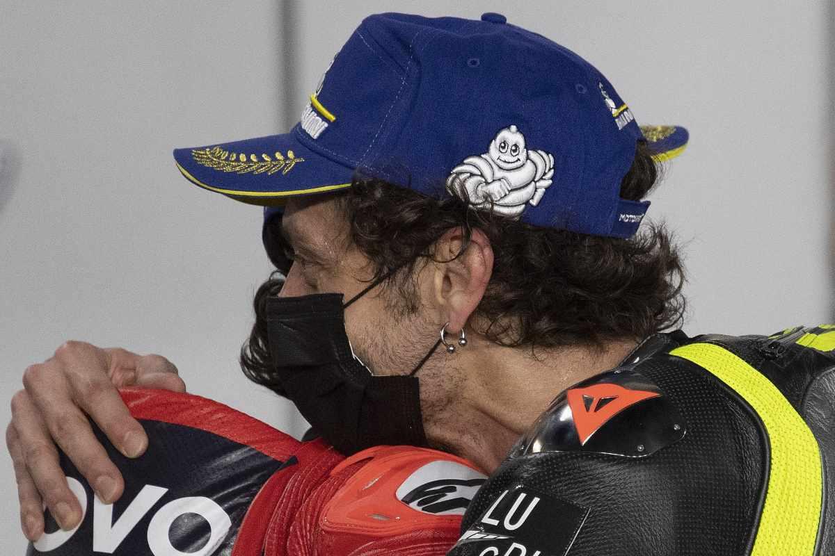 Valentino Rossi e Pecco Bagnaia