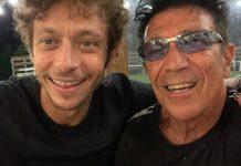 Valentino Rossi con Edoardo Bennato