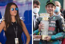 Valentino Rossi e la fidanzata Francesca Sofia Novello (Foto Getty Images)