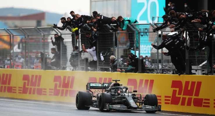 Hamilton, ultimo vincitore in Turchia (Foto di Tolga Bozoglu - Pool/Getty Images)