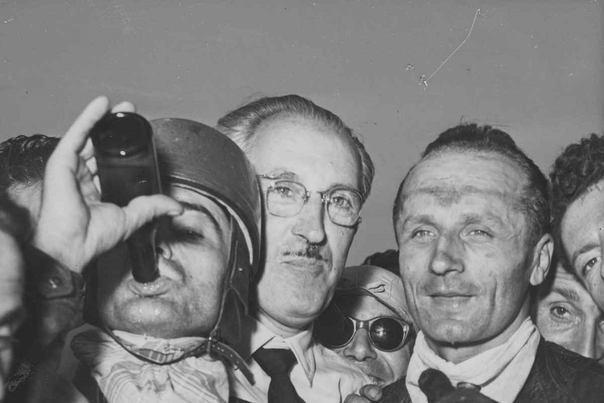 Nello Pagani nel 1949 (Foto di Keystone/Hulton Archive/Getty Images)
