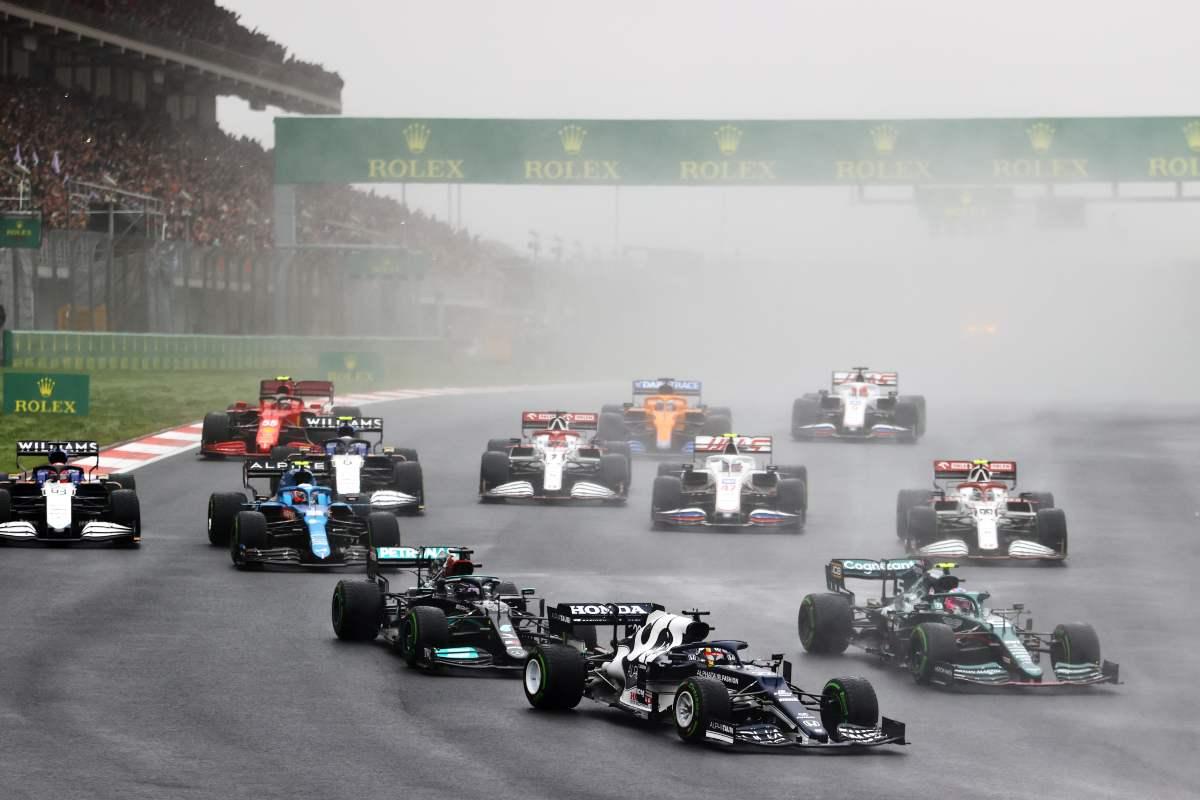 La partenza del GP di Turchia 2021 (Foto di Bryn Lennon/Getty Images)