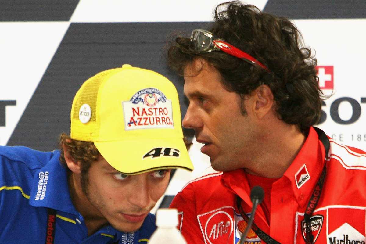 Valentino Rossi e Loris Capirossi